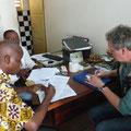 Ausarbeiten der Zivilverträge für die Grundstückskäufe.