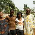 Dr. Damassoh mit seiner Familie