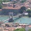 le pont entre Tain l'Hermitage et Tournon