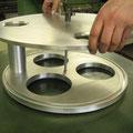 am Fertigung einer Aluminium Plasma Schneid Vorrichtung