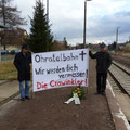 (c) kps - 10.12.2011 - Tag der letzten Fahrt - Bahnhof Crawinkel