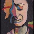edith, acrylique sur toile 10x7cm-2013