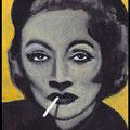 Mini Marlene, acrylique sur toile 10x7cm-2013