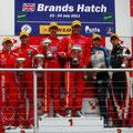 Marcello Puglisi e Nicola De Marco - GT Open Mercedes SLS GT3 AMG - Brands Hatch (Inghilterra)
