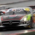 Marcello Puglisi e Nicola De Marco - GT Open Mercedes SLS GT3 AMG - Barcellona (Spagna)