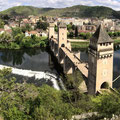 The Valentré bridge of Cahors