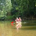 Balade en canoë dans la Vallée du Célé