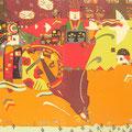Light My Fire 145×155cm 綿布 日本新工芸展・上野の森美術館賞