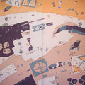 パラレル・ラブ  159×149cm  綿布  RO-MAN染色展・明日をになう西宮の作家展