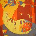 GOOD DAY SUNSHINE  90.5×62cm 綿布/第15回ザ・ビートルズ・クラブ大賞アート部門・奨励賞