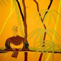 トリのメキシコ人 -第2幕- 164×130cm/西宮市展・入選、三人展