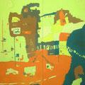 コアラの町 164×130cm 綿布/日展・入選 ケアンズのイメージ