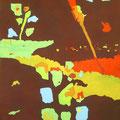 フェスティバル  180×94cm 綿布/堺市展・入選  天神祭のイメージ