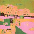 コアラの町2 185×249cm 綿布/京都芸大染織後期展