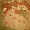 オリンピア 159×149cm 綿布/二人展、天理ビエンナーレ・入選