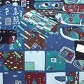 Sleepin' 145×155cm 綿布 第32回日本新工芸展・入選