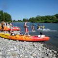 domaine de Millox, rafting sur les Gavec