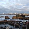 domaine de Millox, Biarritz vu du vieux port