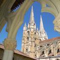 domaine de Millox, la cathédrale de Bayonne