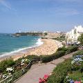 domaine de Millox, la grande plage de Biarritz