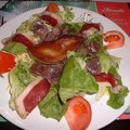 domaine de Millox, salade landaise