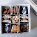 いろいろ焼き菓子とコンフィチュールの木箱セット 4900yen