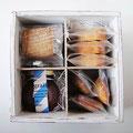 いろいろ焼き菓子とコンフィチュールの木箱セット 3000yen