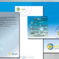 Identidad Institucional: Empresa Sueca; Marca y aplicaciones.