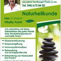 Gestaltung Plakat Naturheilkunde