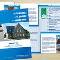 Konzeption | Gestaltung Bauservie-Sicherheitspaket, 4 Seiten