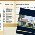 Konzeption | Gestaltung Referenzbroschüre, 16 Seiten