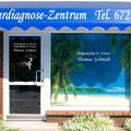 Folienbeschriftung Fenster/Netzvinylbanner von innen