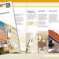 Konzeption | Gestaltung Flyer Leistungen/Haustechnik