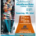 Gestaltung Plakat Jubiläums-Modenschau