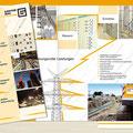 Konzeption | Gestaltung Flyer Leistungen/Elektrotechnik