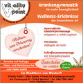 Anzeigenkampagne zum Thema Wellnes | Praxis Vitality Point
