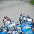 """Das """"Peleton"""" des Kieler Woche Radrennens"""