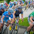 Das BIKE Market Team im Hauptfeld beim Kieler Woche Radrennen