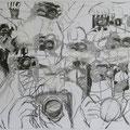 Fotohände, 84x59, Zeichnung Kohle und Kreiden