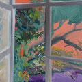 Fenster 1, 100x80cm, Acryl/Leinwand, 2017