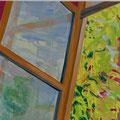Fenster 6, 60x60cm, Acryl/Leinwand, 2017
