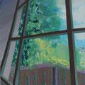 Fenster 4, 120x100cm, Acryl/Leinwand, 2017 (verkauft)