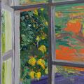 Fenster 2, 100x80cm, Acryl/Leinwand, 2017