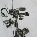 Reporter, 59x84, Zeichnung Kohle