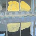 Spiegelung, 100x120, Gouache 2014