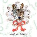 kemono de tategami sheep×wolf