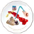 コトワザ8 【He should have a long spoon who sups with the dedevil.】悪魔と食事するものは長いスプーンを使え(悪がしこい人間に接するときは用心しないと危険だというたとえ。)