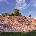 Pyramide Kinich Kak Mo,Izamal - die groesste  in Yucatan
