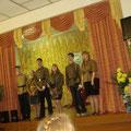 Спектакль, посвященный Дню Победы, 2012.