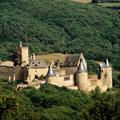 Burg Bourscheid: 15 km von der Grange de Max